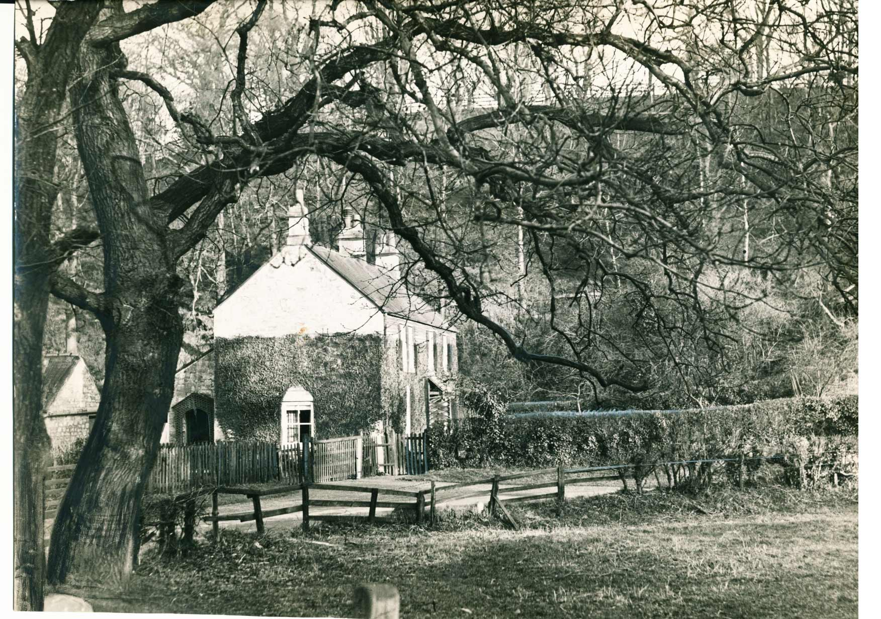 Cottages at Stanley Ford(Bradley Mill) in February 1938