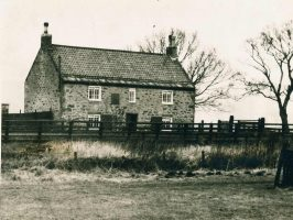 George Stephenson's Cottage in June 1930