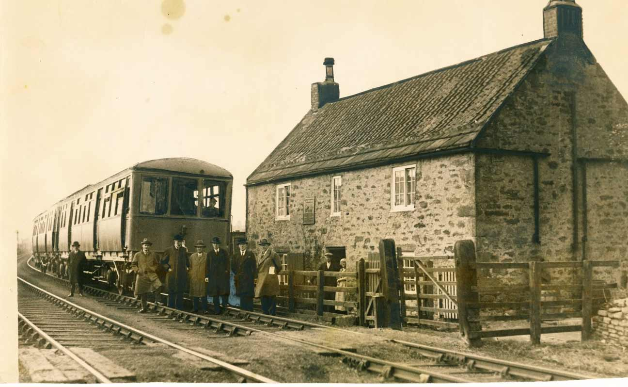 George Stephenson's birthplace in May 1932