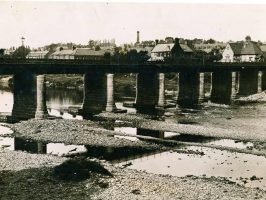1920 View of Wylam Bridge