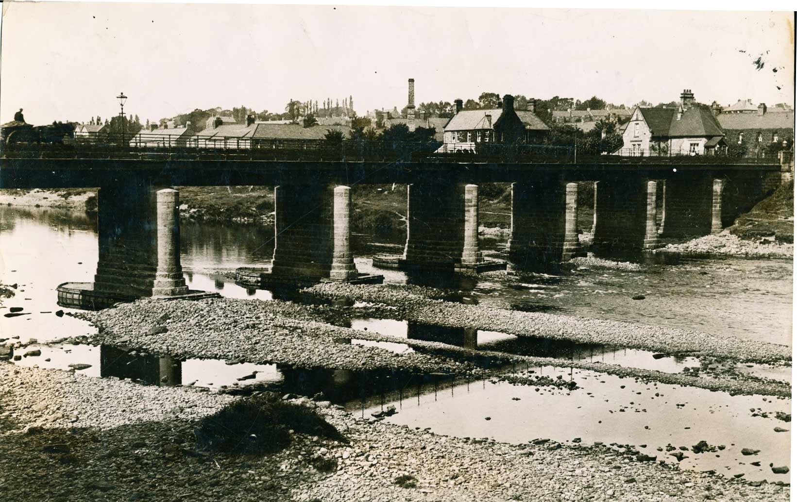 1920 View of Wylam Bridge