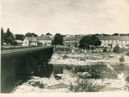 Wylam Bridge from the South East in June 1955