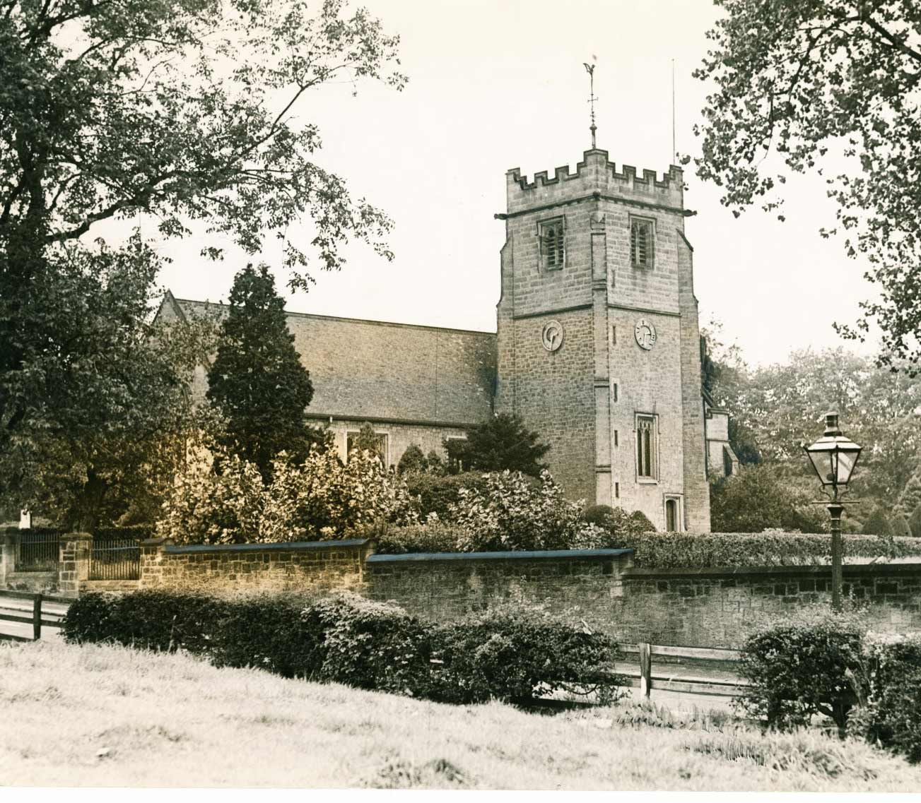 Wylam Church in October 1939