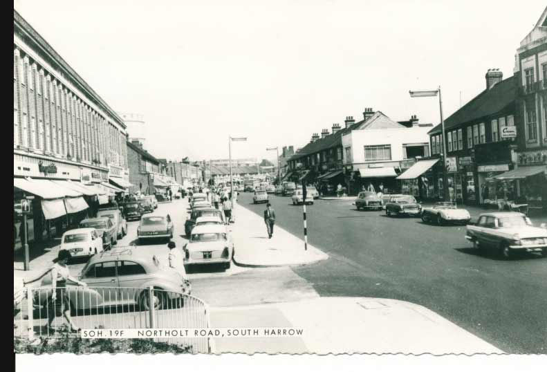Postcard of South Harrow