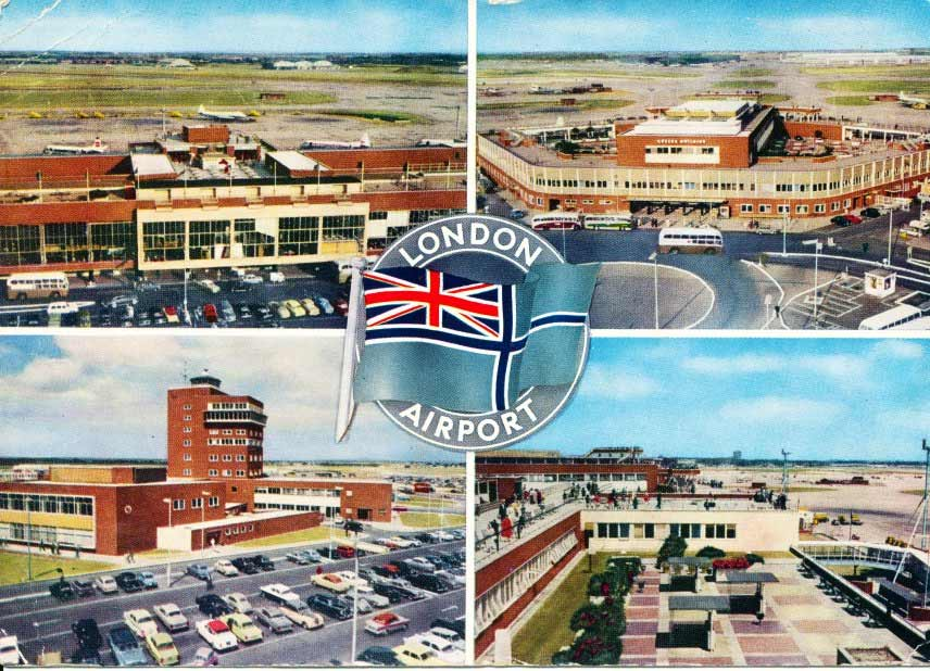 Postcard of London Airport