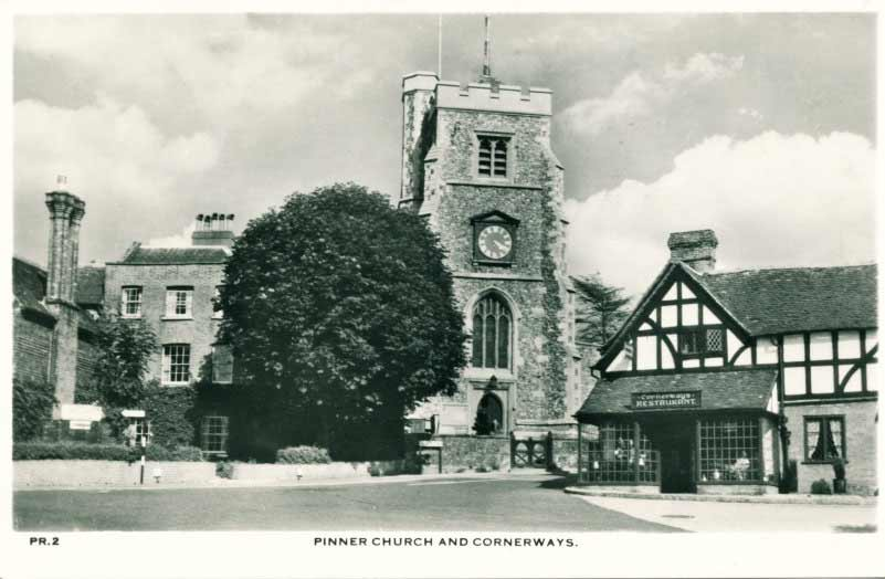 Church at Pinner Middlesex
