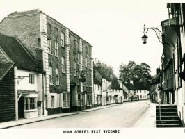 Postcard of West Wycombe